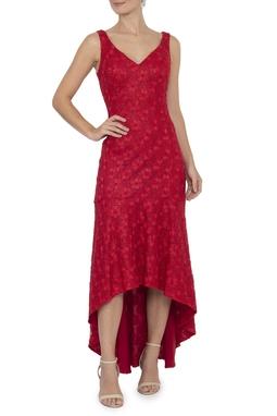 Vestido Zagari Red