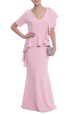 Vestido Zegna Rosa CLM