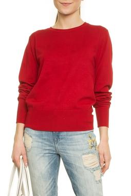 Viscose Basic Sweater Long Sleeve - 50H133