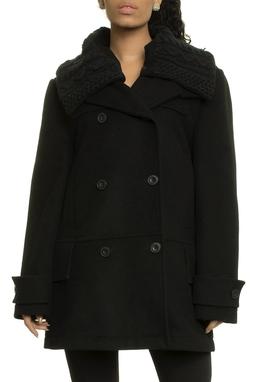 Wool Cuts Knitted Collar - 48O193