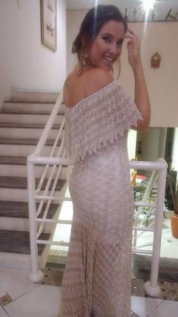 Meninas, esse foi - sem dúvidas - o vestido mais lindo que já usei! Super confortável e deixa o corpo maravilhoso!  Obrigada pelo atendimento primoroso, com certeza a Dress será sempre minha primeira opção :)