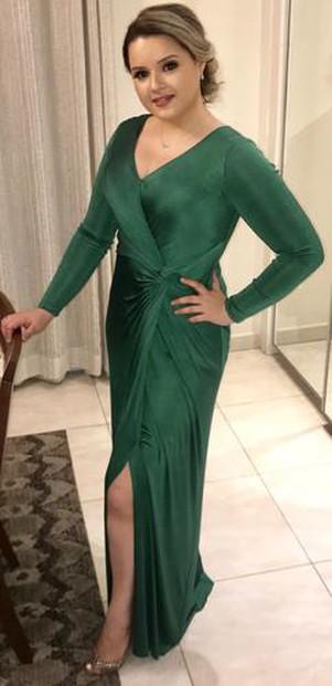 Amei o atendimento! Amei o vestido! Vocês são incríveis !!!