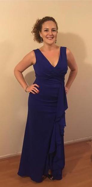 Vestido ficou perfeito no corpo e recebi elogios a noite toda!