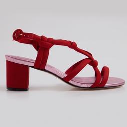 Sandália Neon Rosa Metalizado