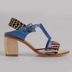 Sapato Caramelo Azul