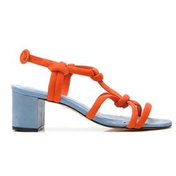 Sandália Neon Laranja