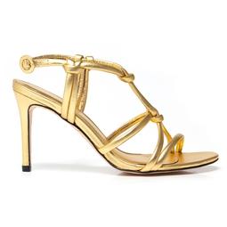 Sandália Neon Ouro