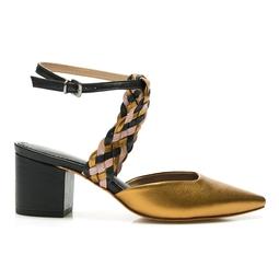 Sapato Encanto Ouro Velho