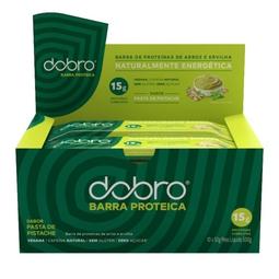 Barra Proteica Cafeína Dobro Pasta de Pistache 50g