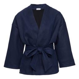 Kimono Lis Azul Marinho
