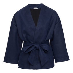 Kimono Liz Azul Marinho
