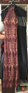 Vestido Arakian Marsala