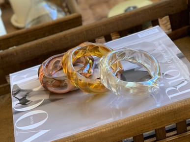 Bracelete cristal Má Ferreira