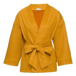 Kimono Lis Ocre
