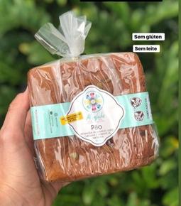 Pão de Biomassa de Banana Verde (Gluten Free)