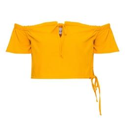 Cropped Dandara Amarelo