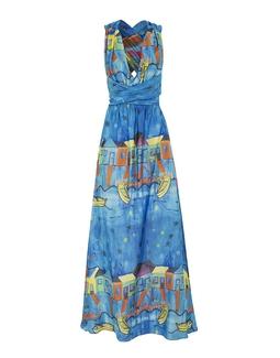Vestido Amalia Estampado Azul KS