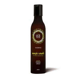 Shampoo Maça Verde Para Raiz Oleosa E Pontas Secas 240Ml