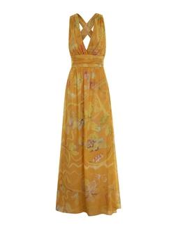 Vestido Amalia Estampado Amarelo KS