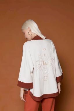 Kimono Lua Curto Cru