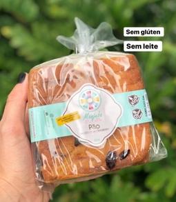 Pão de Nozes e Cranberry (Gluten Free)