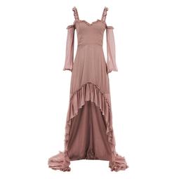 Vestido Mullet Rosa KS