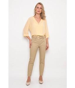 Camisa Cupro Amarela