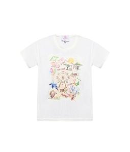 T-Shirt Estampa Férias Infantil
