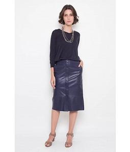 Sueter Silk Cotton Marinho