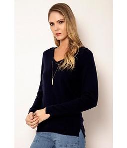 Blusa Cashmere Decote V