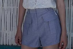 Short Itacaré Azul