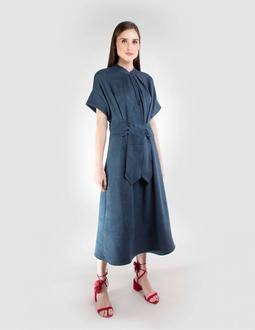 Vestido Midi - Azul Areaoito