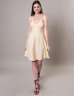 Vestido Malibu - Amarelo Areaoito
