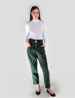 Calça Veludo - Verde Areaoito