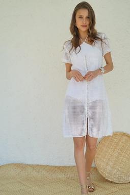 Vestido de Laise Branco