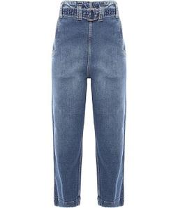 Calça Jeans Clochard Cinto