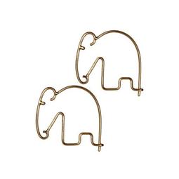 Brinco Elefante Ouro Envelhecido