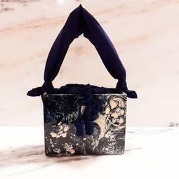 Bolsa Cenny Azul Com Branco