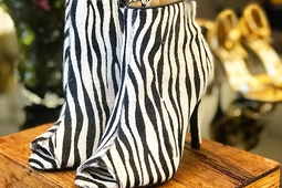 Ankle Boot Animal Print