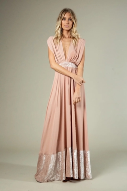 Vestido Linda Rosa