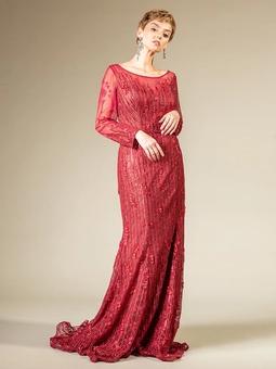 Vestido Diorina Vermelho Bordado THM
