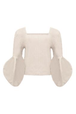 Blusa Mel Branco