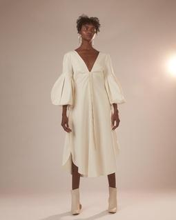 Vestido Alina Branco