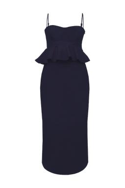 Vestido Celle Azul