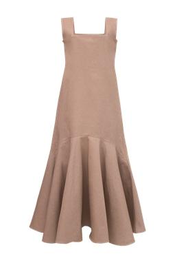 Vestido Lilia Marrom