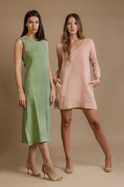 Vestido Alessandra Verde