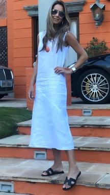 Vestido Alessandra Branco