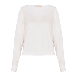 Blusa Bia Off White JA