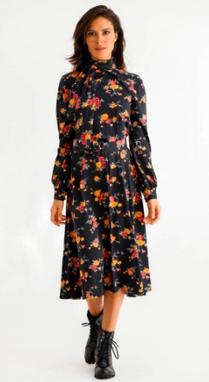Vestido Midi Luana Buquê
