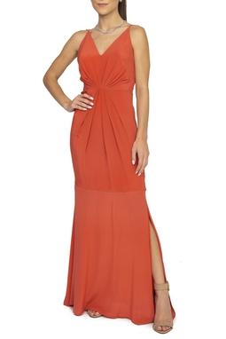 Vestido Coral Longo - DG15195